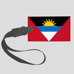 Antigua Barbuda Flag Large Luggage Tag