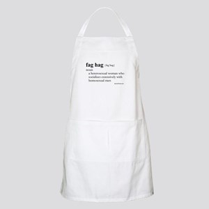 Fag hag definition BBQ Apron