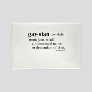 Gaysian definition Rectangle Magnet