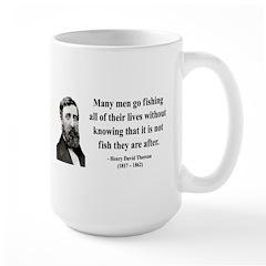 Henry David Thoreau 22 Large Mug