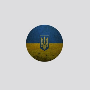 Ukrainian Flag Mini Button