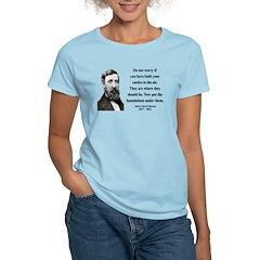 Henry David Thoreau 25 Women's Light T-Shirt