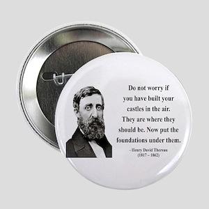 "Henry David Thoreau 25 2.25"" Button"