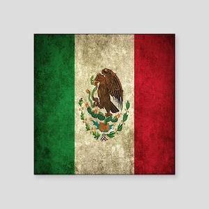 Mexican Flag Bandana Sticker