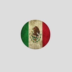 Mexican Flag Mini Button