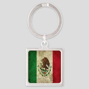 Mexican Flag Bandana Keychains