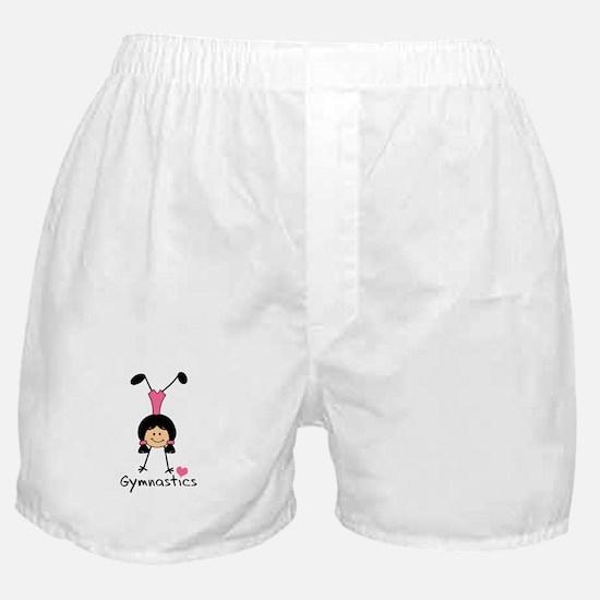 LOVE GYMNASTICS Boxer Shorts