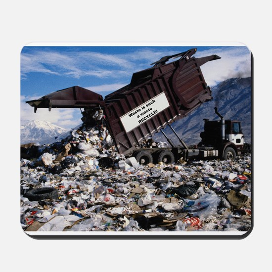 Recycle it. Mousepad