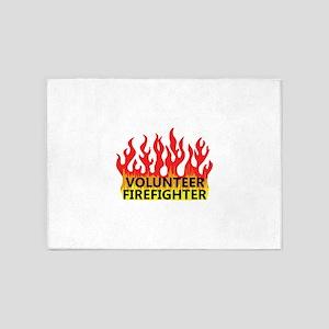 VOLUNTEER FIREFIGHTER 5'x7'Area Rug