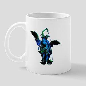 Powerful Angel - Blue Mug