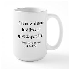 Henry David Thoreau 27 Large Mug