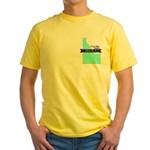 Yellow T-Shirt for a True Blue Idaho LIBERAL