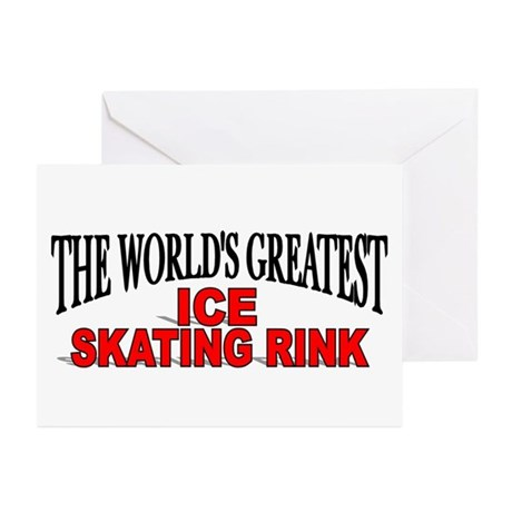 """""""The World's Greatest Ice Skating Rink"""" Greeting C"""