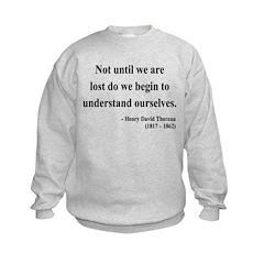 Henry David Thoreau 28 Sweatshirt