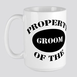 Property of The Groom Large Mug