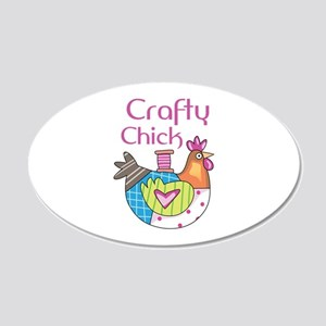 Craftly Chick Wall Decal