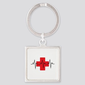 MEDICAL CROSS Keychains