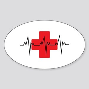 MEDICAL CROSS Sticker