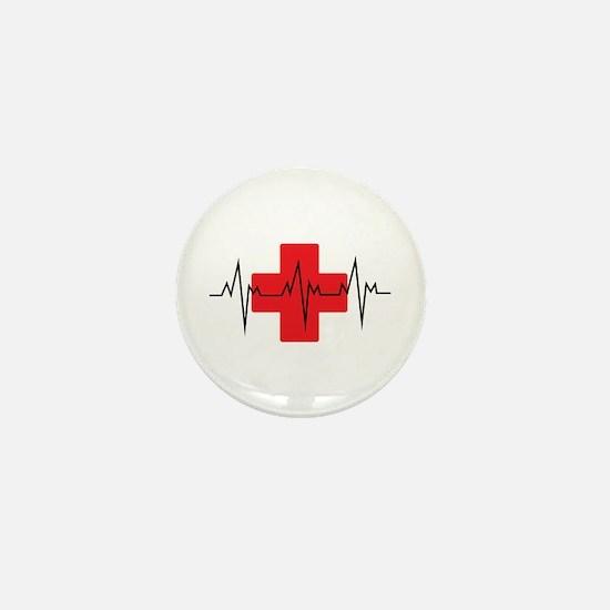 MEDICAL CROSS Mini Button