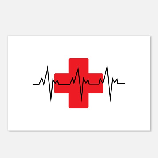 MEDICAL CROSS Postcards (Package of 8)