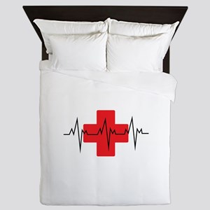 MEDICAL CROSS Queen Duvet