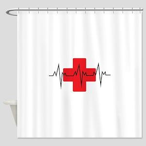 MEDICAL CROSS Shower Curtain