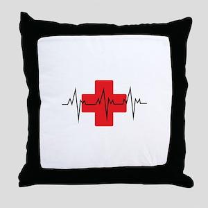 MEDICAL CROSS Throw Pillow