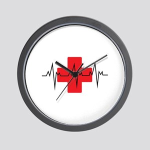MEDICAL CROSS Wall Clock