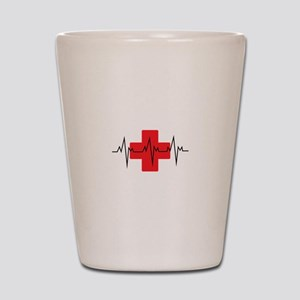 MEDICAL CROSS Shot Glass