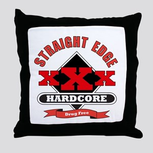 XXX Drug Free Throw Pillow