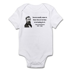 Henry David Thoreau 29 Infant Bodysuit