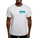 Ash Gray T-Shirt for a True Blue Kansas LIBERAL