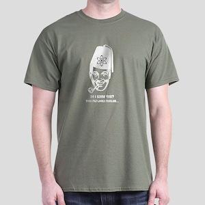 Subgenius - JR Bob Dobbs Dark T-Shirt