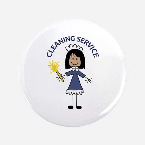 "CLEANING SERVICE 3.5"" Button"