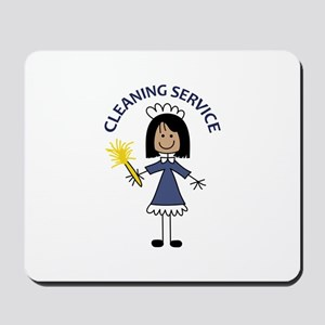 CLEANING SERVICE Mousepad