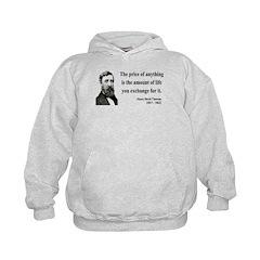 Henry David Thoreau 30 Hoodie