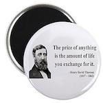 Henry David Thoreau 30 Magnet