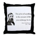 Henry David Thoreau 30 Throw Pillow