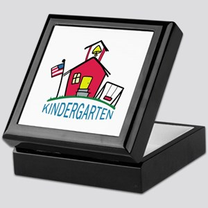 KINDERGARTEN SCHOOL Keepsake Box