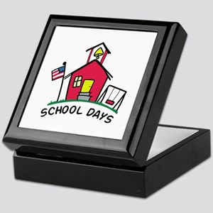 SCHOOL DAYS Keepsake Box