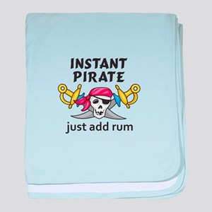INSTANT PIRATE baby blanket