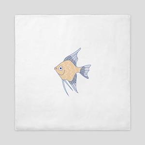 ANGEL FISH Queen Duvet