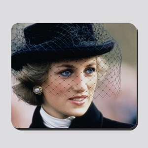 HRH Princess of Wales France Mousepad