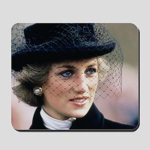HRH Princess of Wales France Mousepad