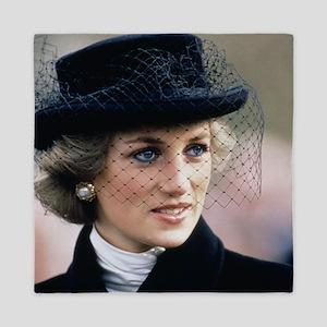HRH Princess of Wales France Queen Duvet