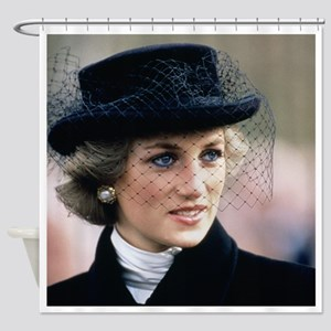 HRH Princess of Wales France Shower Curtain