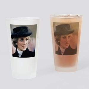 HRH Princess of Wales France Drinking Glass