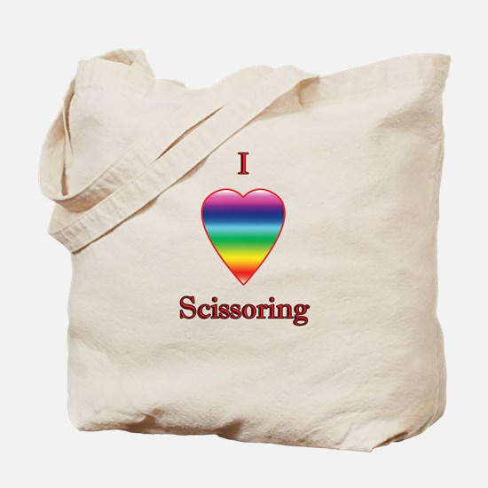 I love scissoring Tote Bag