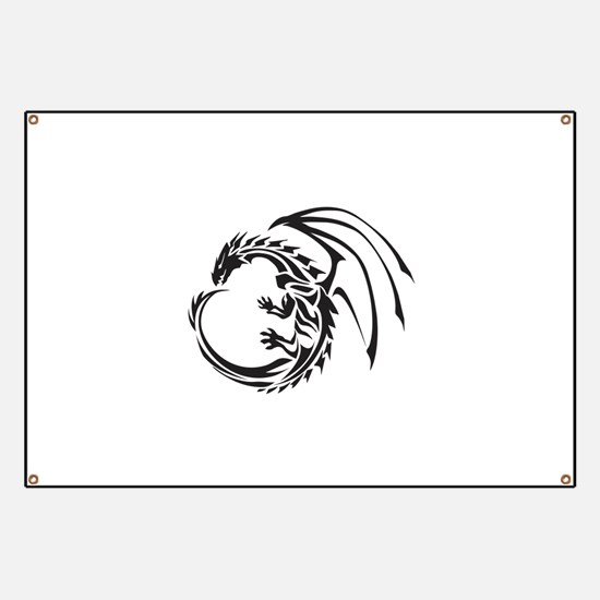 Tribal Dragon Banner