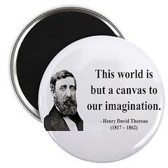 Henry David Thoreau 3 Magnet